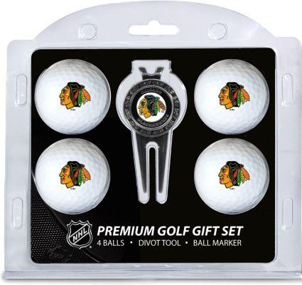 Team Golf Chicago Blackhawks Premium Golf Gift Set