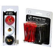 Team Golf Chicago Blackhawks 3 Ball/50 Tee Combo Gift Pack