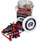 Team Golf Columbus Blue Jackets 175 Count Golf Tee Jar