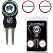 Team Golf Columbus Blue Jackets Divot Tool and Marker Set