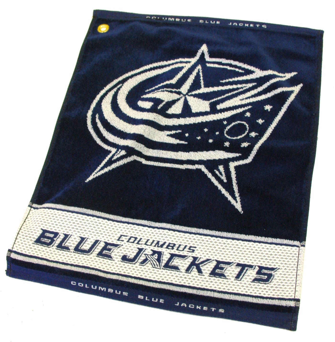Team Golf Columbus Blue Jackets Woven Towel