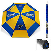 "Team Golf St. Louis Blues 62"" Double Canopy Umbrella"