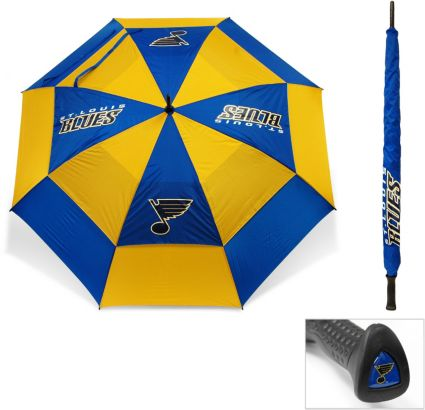 "Team Golf St. Louis Blues 62"" Double Canopy Umbrella"