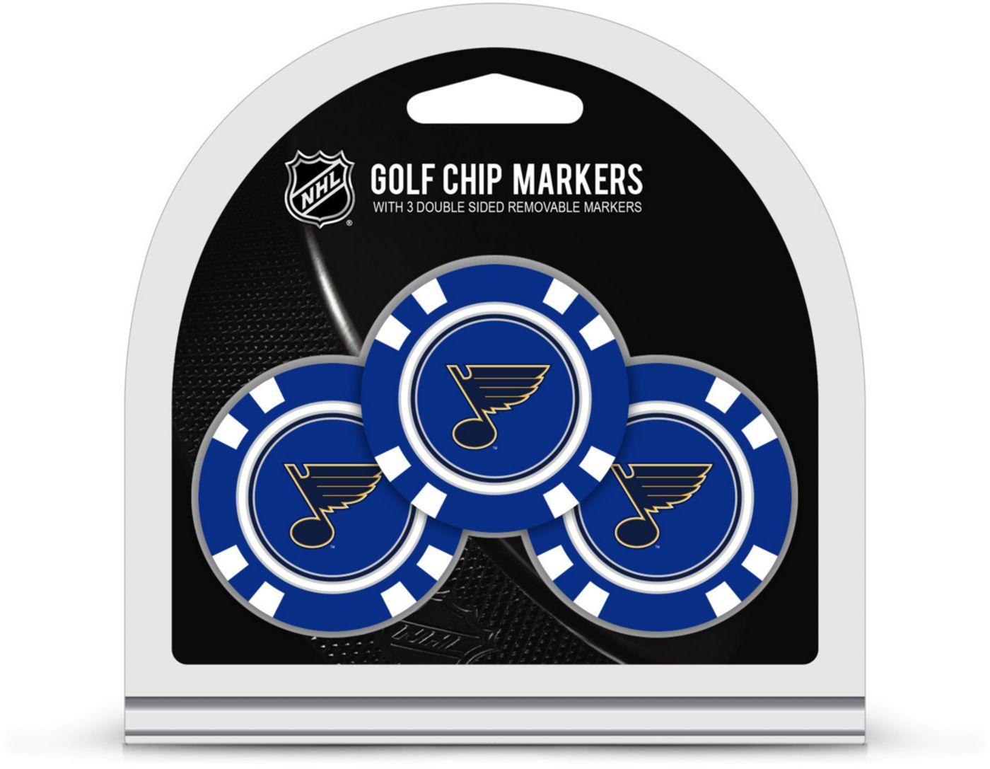 Team Golf St. Louis Blues Golf Chips - 3 Pack