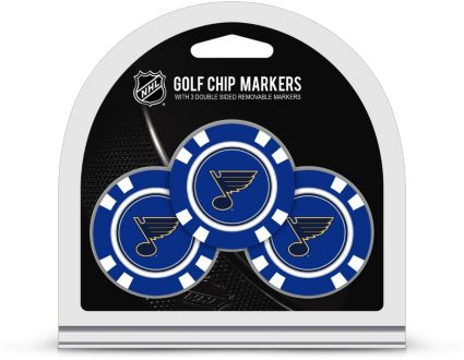 Team Golf St. Louis Blues Golf Chips - 3 Pack