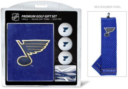 Team Golf St. Louis Blues Embroidered Towel Gift Set