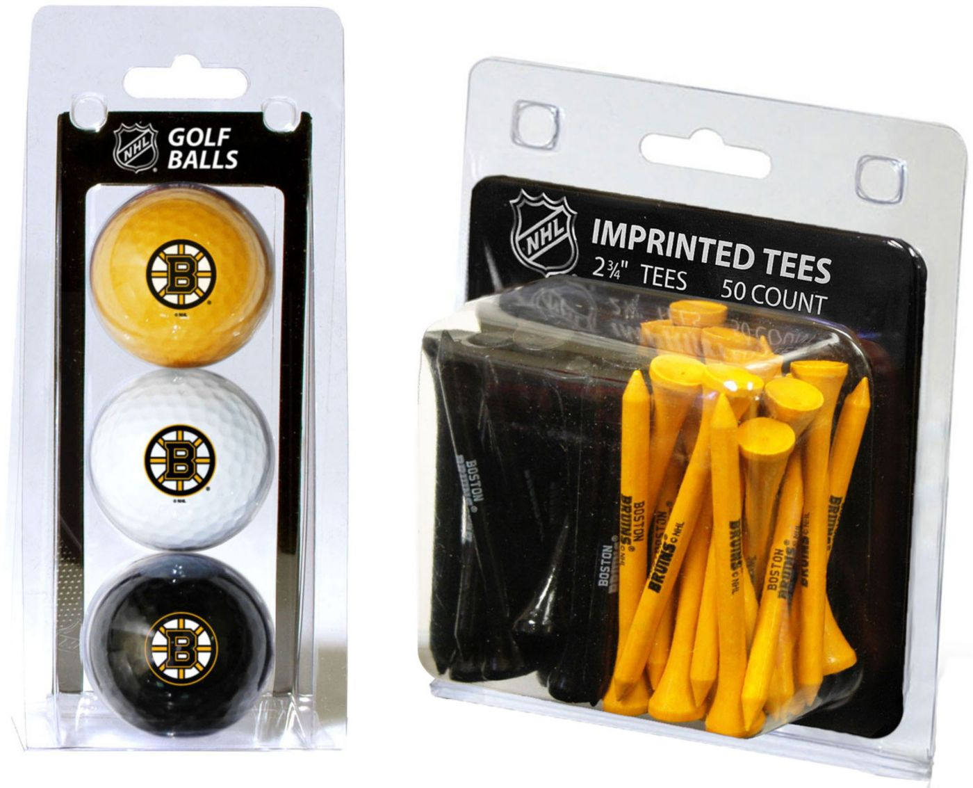 Team Golf Boston Bruins 3 Ball/50 Tee Combo Gift Pack