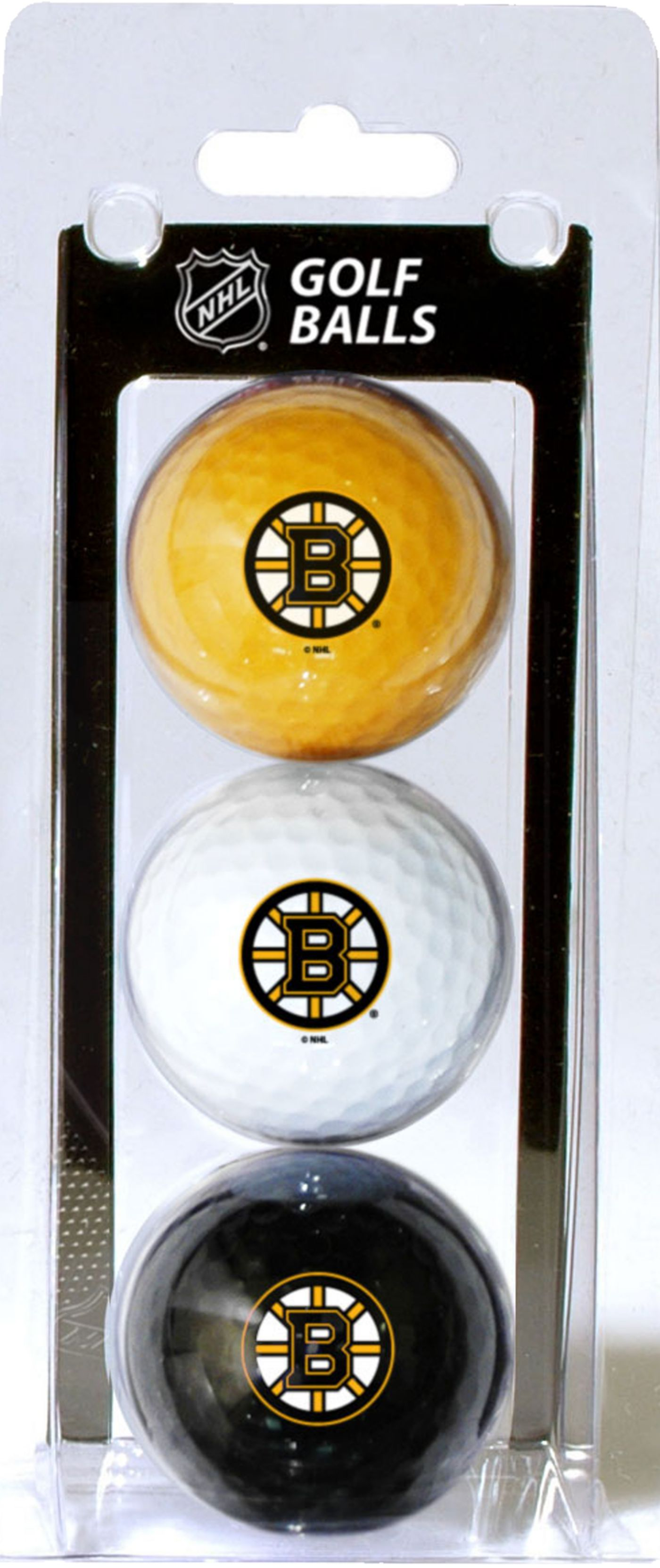 Team Golf Boston Bruins Golf Balls - 3 Pack