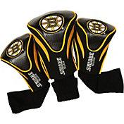 Team Golf Boston Bruins 3-Pack Contour Headcovers