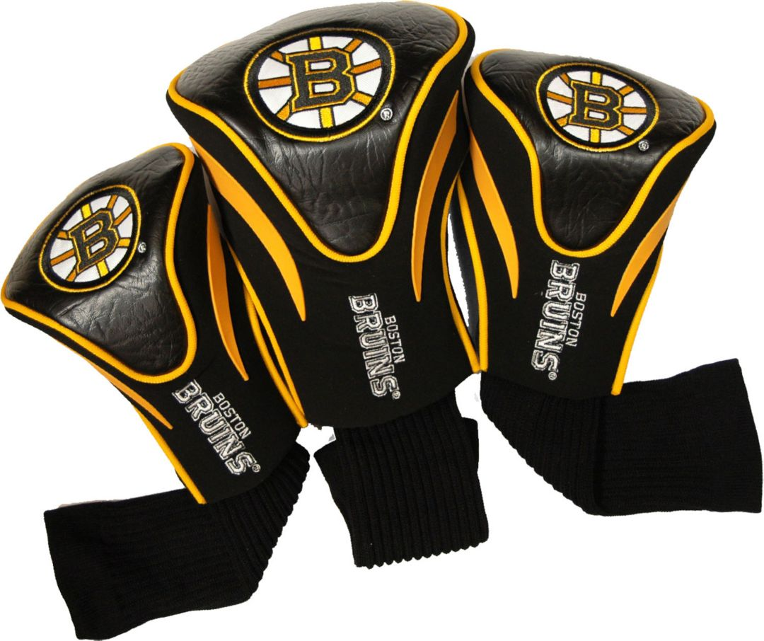timeless design 3160c fca55 Team Golf Boston Bruins 3-Pack Contour Headcovers