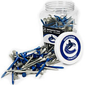Team Golf Vancouver Canucks 175 Count Golf Tee Jar