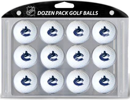 Team Golf Vancouver Canucks Golf Balls