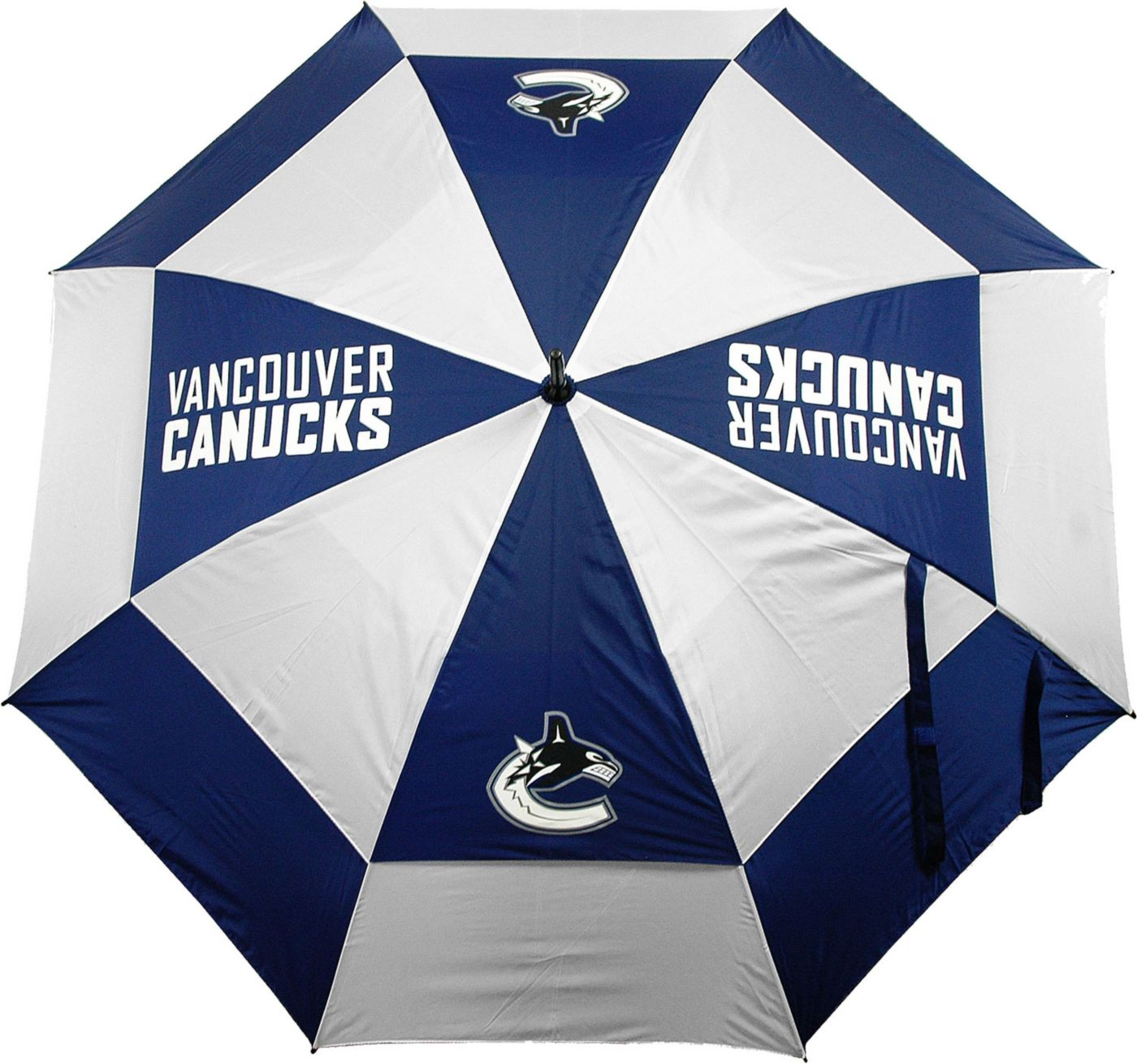 "Team Golf Vancouver Canucks 62"" Double Canopy Umbrella"