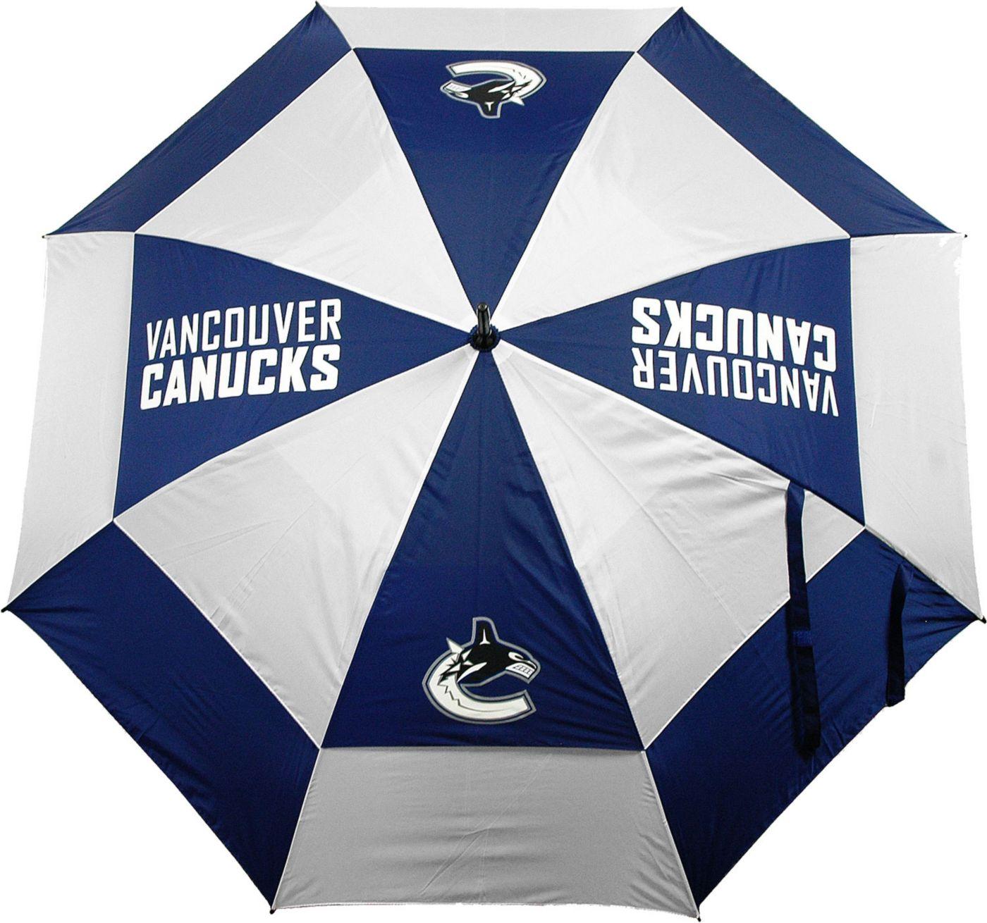 "Team Golf Vancouver Canucks 62"" Double Canopy Umbrella"