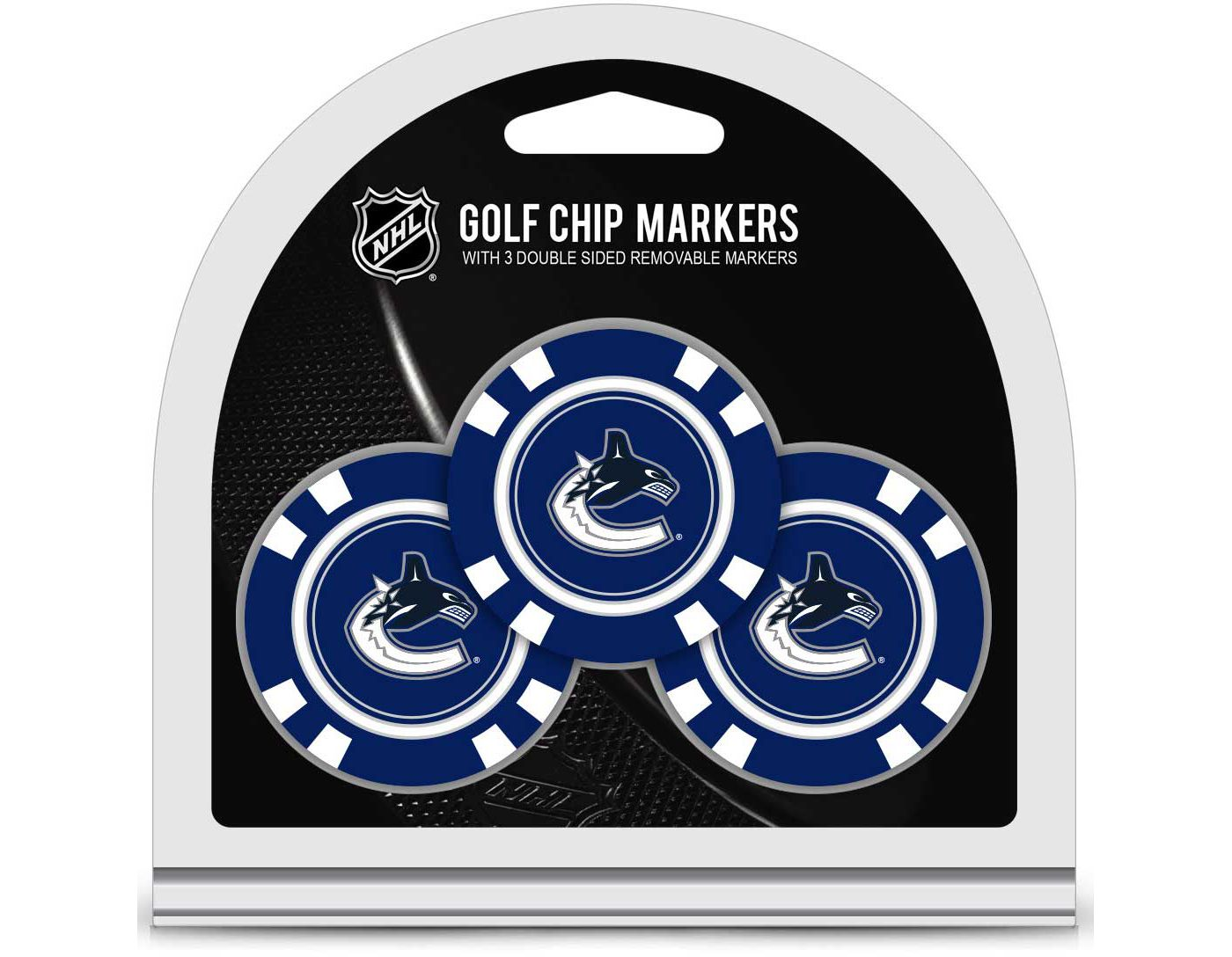 Team Golf Vancouver Canucks Golf Chips - 3 Pack