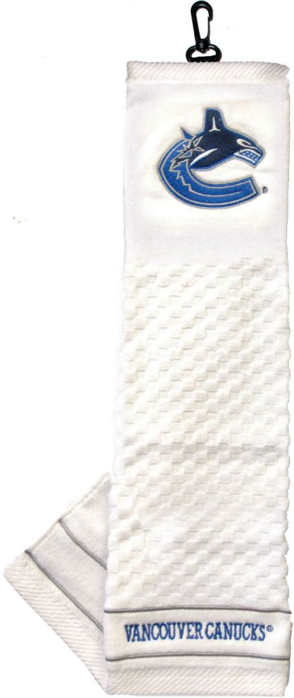Team Golf Vancouver Canucks Embroidered Towel
