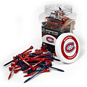 Team Golf Montreal Canadiens 175 Count Golf Tee Jar