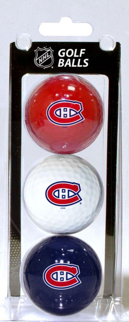 Team Golf Montreal Canadiens Golf Balls - 3 Pack