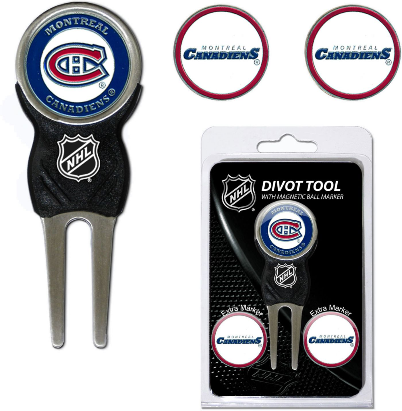 Team Golf Montreal Canadiens Divot Tool and Marker Set