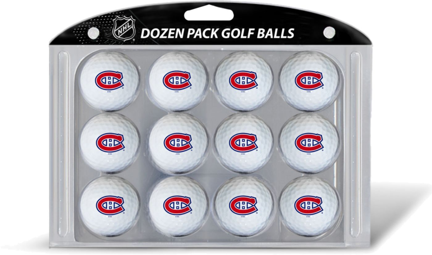 Team Golf Montreal Canadiens 12 Pack Golf Balls