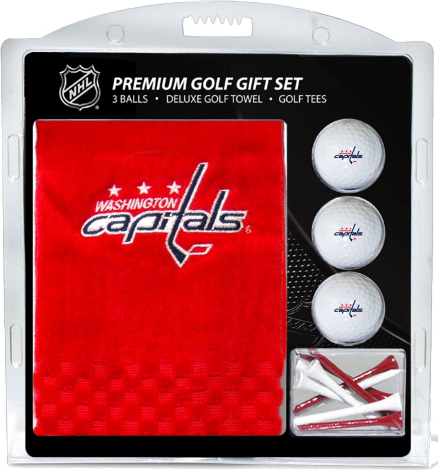 Team Golf Washington Capitals Embroidered Towel Gift Set