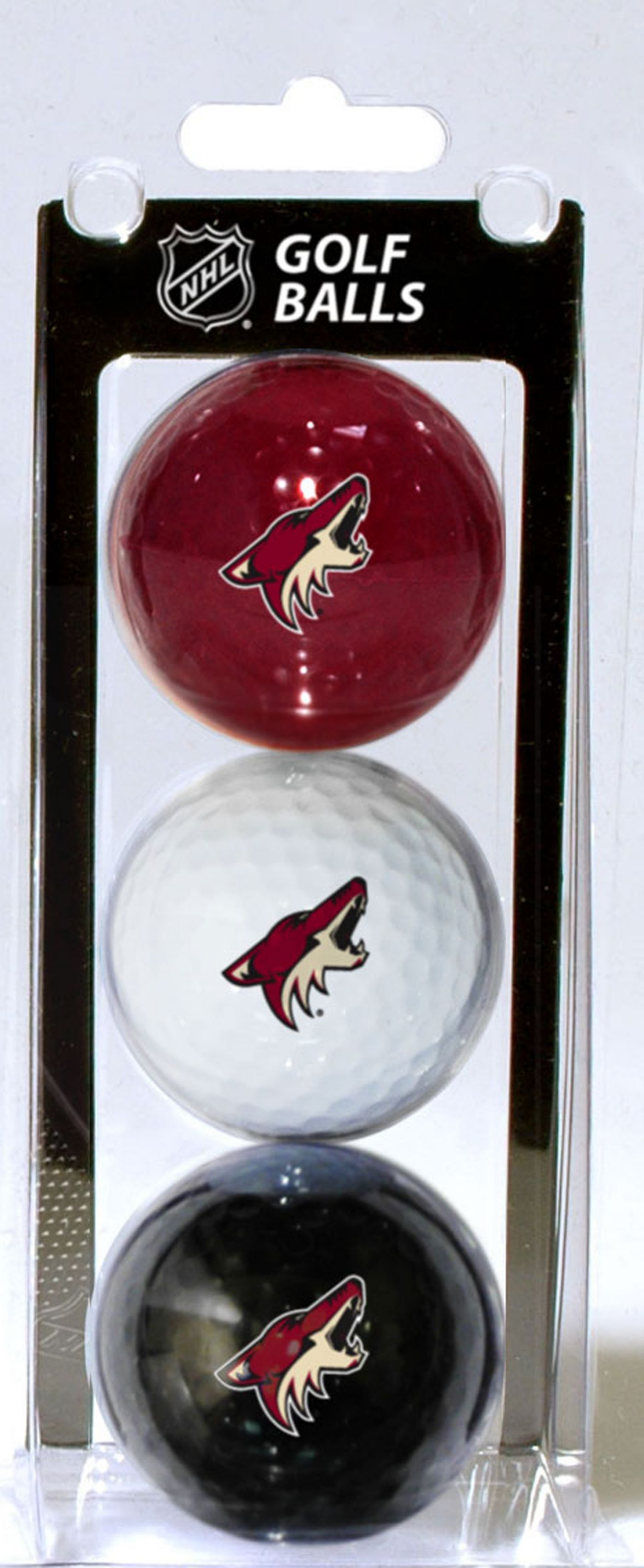 Team Golf Arizona Coyotes Three Pack Golf Ball Set