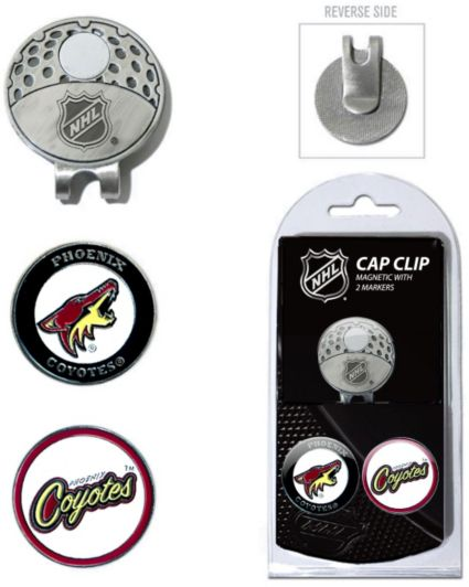 Team Golf Arizona Coyotes Cap Clip And Marker Set