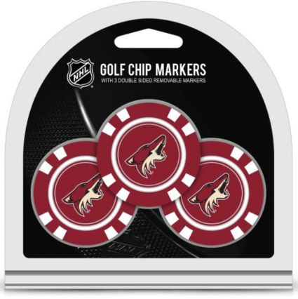 Team Golf Arizona Coyotes Golf Chips - 3 Pack