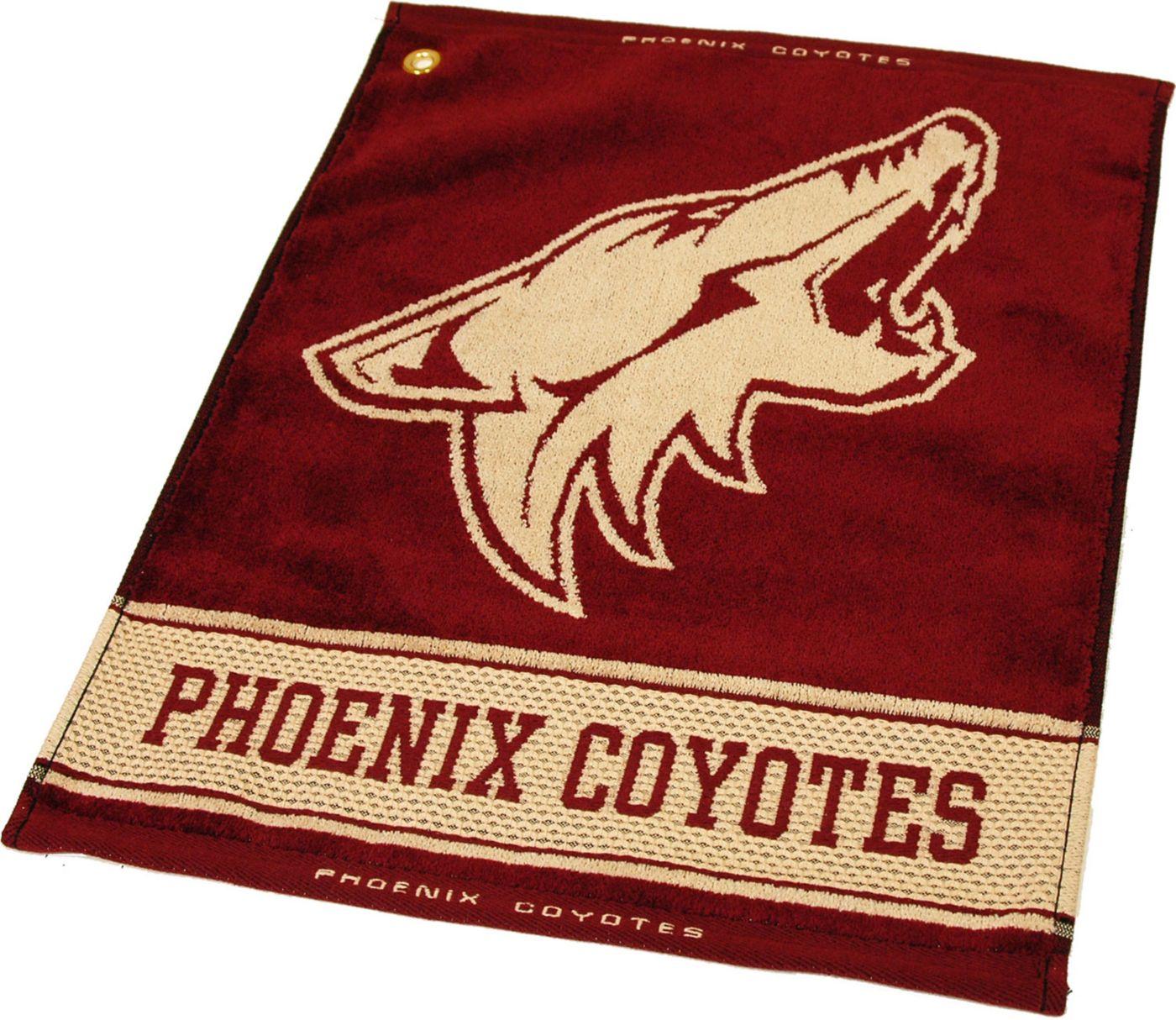 Team Golf Arizona Coyotes Woven Towel