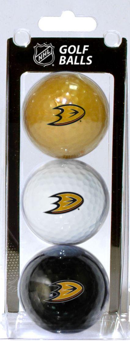 Team Golf Anaheim Ducks Three Pack Golf Ball Set