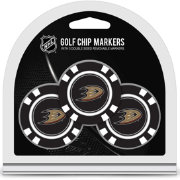 Team Golf Anaheim Ducks Poker Chips Ball Markers - 3-Pack
