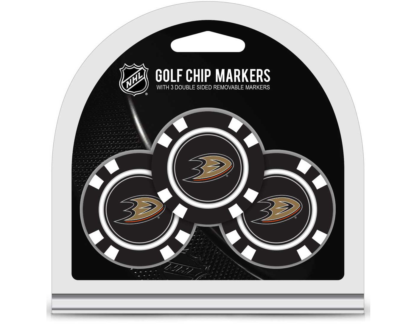 Team Golf Anaheim Ducks Golf Chips - 3 Pack