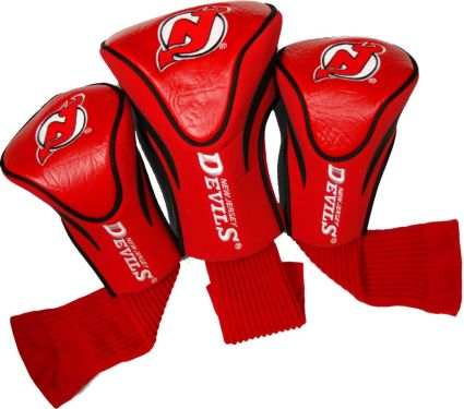 Team Golf New Jersey Devils Contour Sock Headcovers - 3 Pack