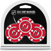 Team Golf New Jersey Devils Poker Chips Ball Markers - 3-Pack