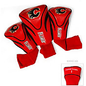 Team Golf Calgary Flames 3-Pack Contour Headcovers