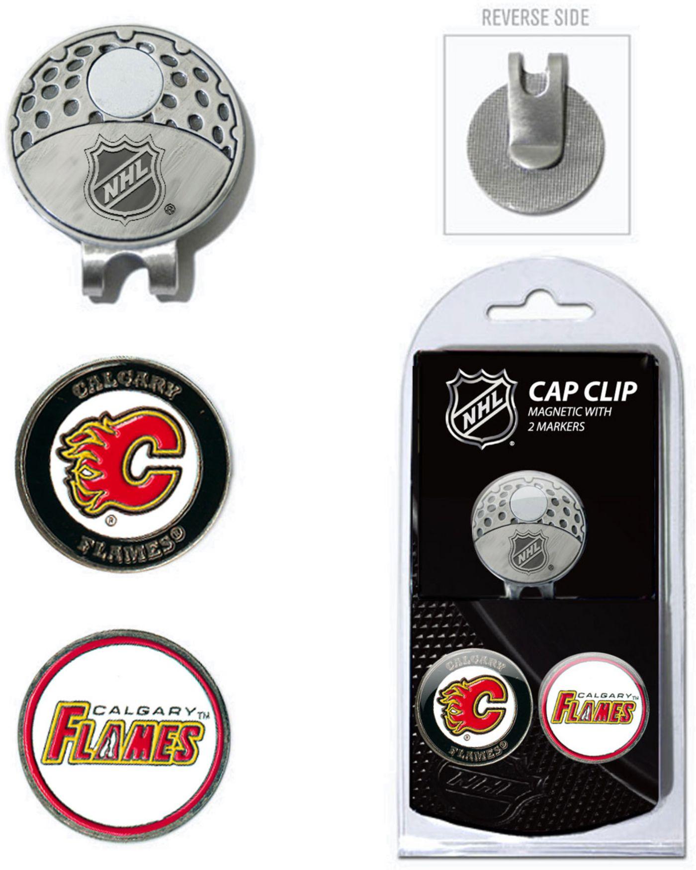 Team Golf Calgary Flames Cap Clip And Marker Set