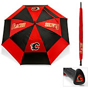 "Team Golf Calgary Flames 62"" Double Canopy Umbrella"