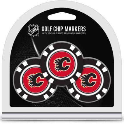Team Golf Calgary Flames Golf Chips - 3 Pack