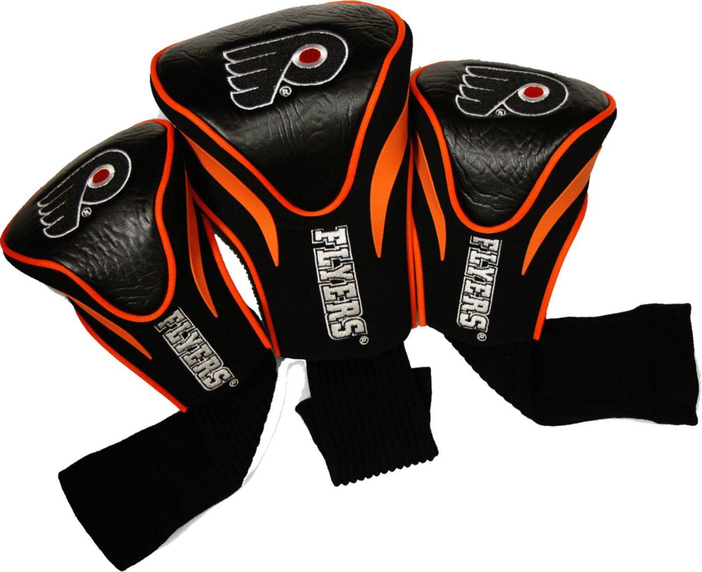 Team Golf Philadelphia Flyers Contour Sock Headcovers - 3 Pack