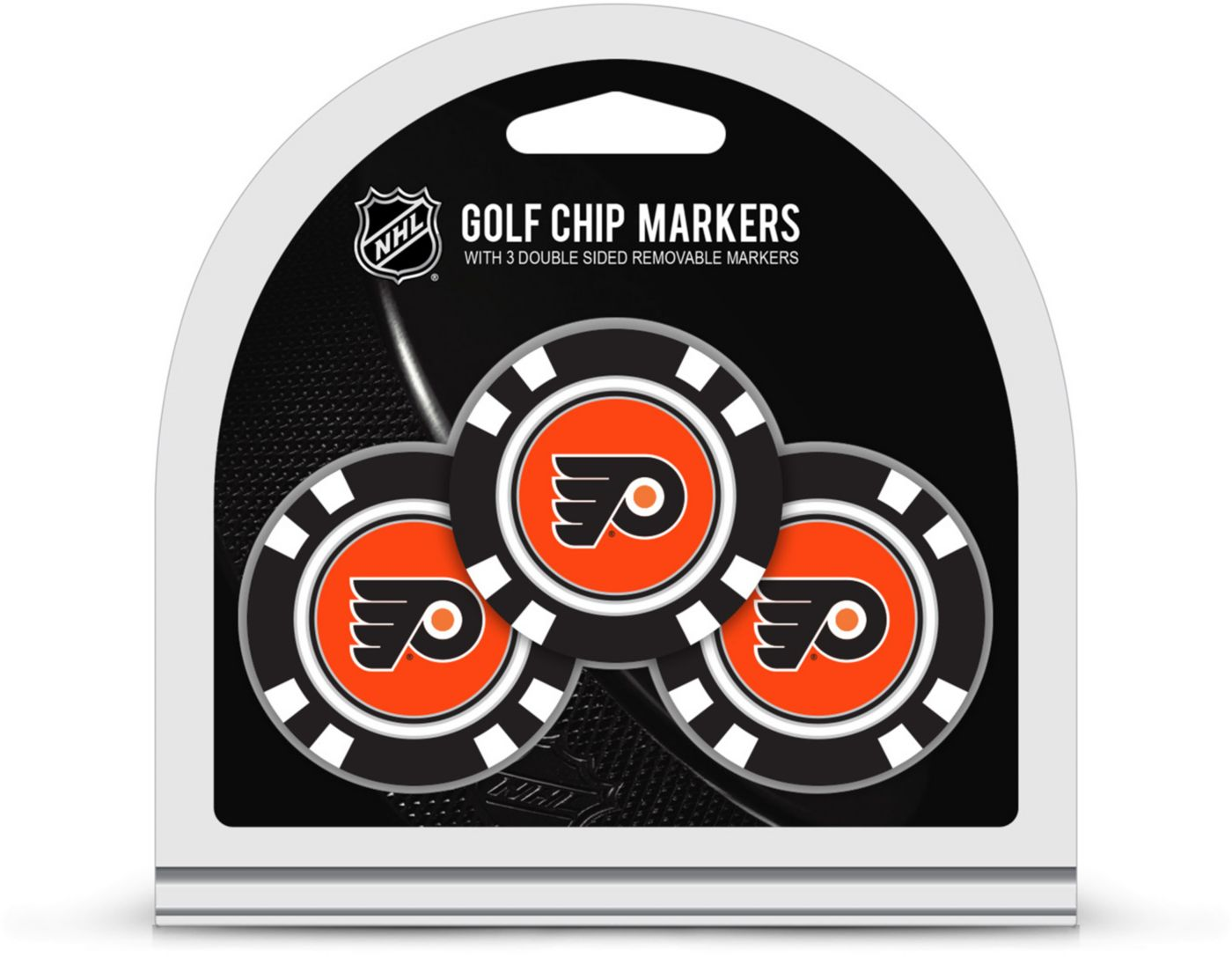 Team Golf Philadelphia Flyers Golf Chips - 3 Pack