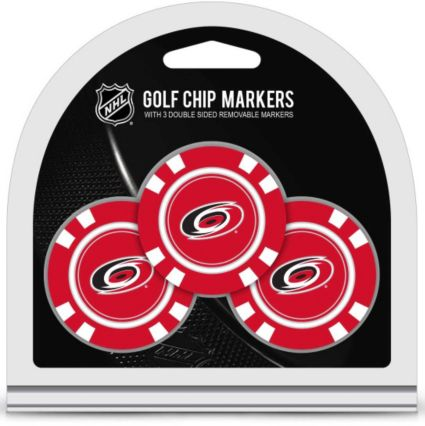 Team Golf Carolina Hurricanes Golf Chips - 3 Pack