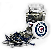 Team Golf Winnipeg Jets 175 Count Golf Tee Jar