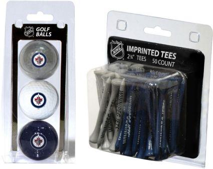 Team Golf Winnipeg Jets 3 Ball/50 Tee Combo Gift Pack