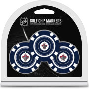 Team Golf Winnipeg Jets Poker Chips Ball Markers - 3-Pack