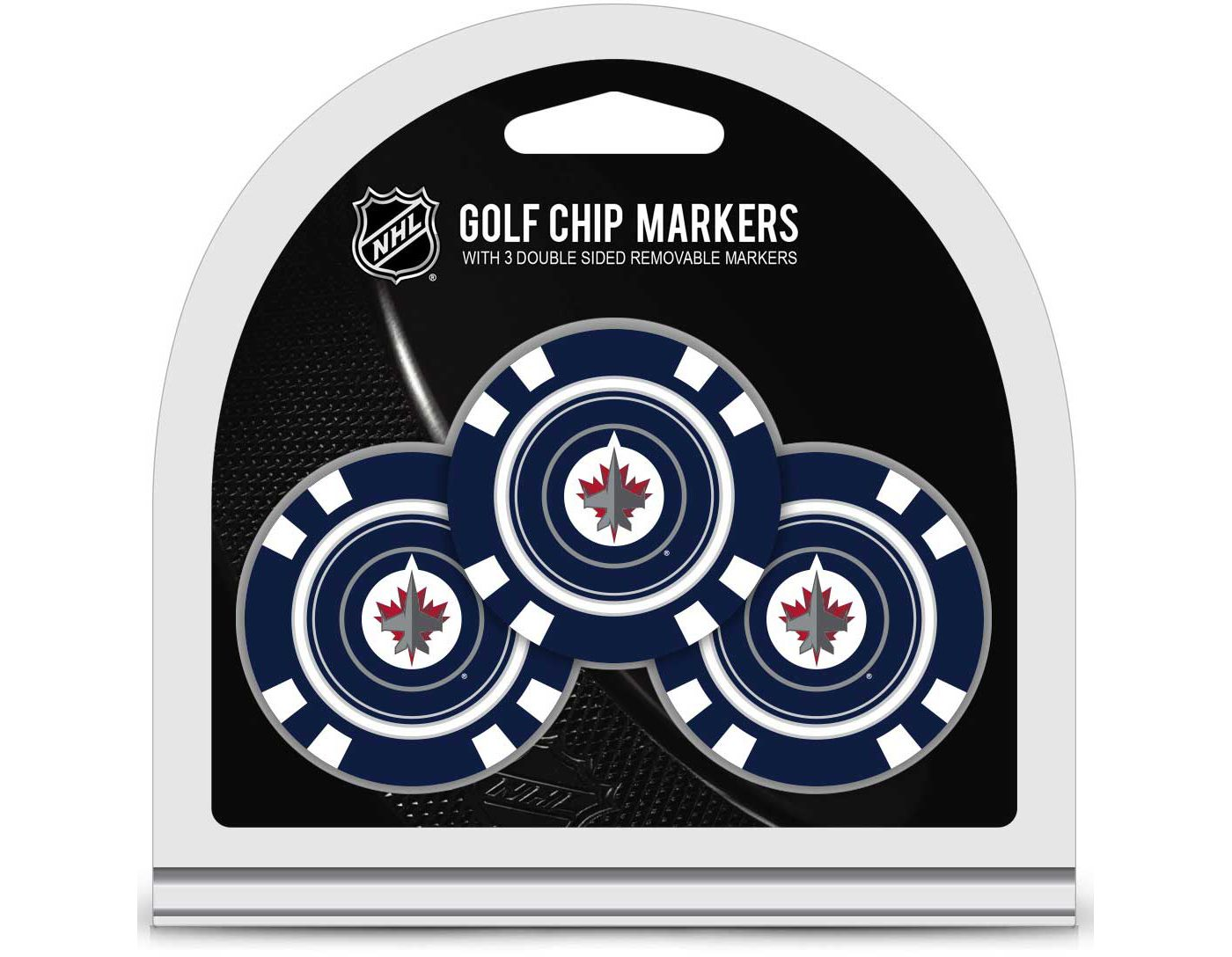 Team Golf Winnipeg Jets Golf Chips - 3 Pack
