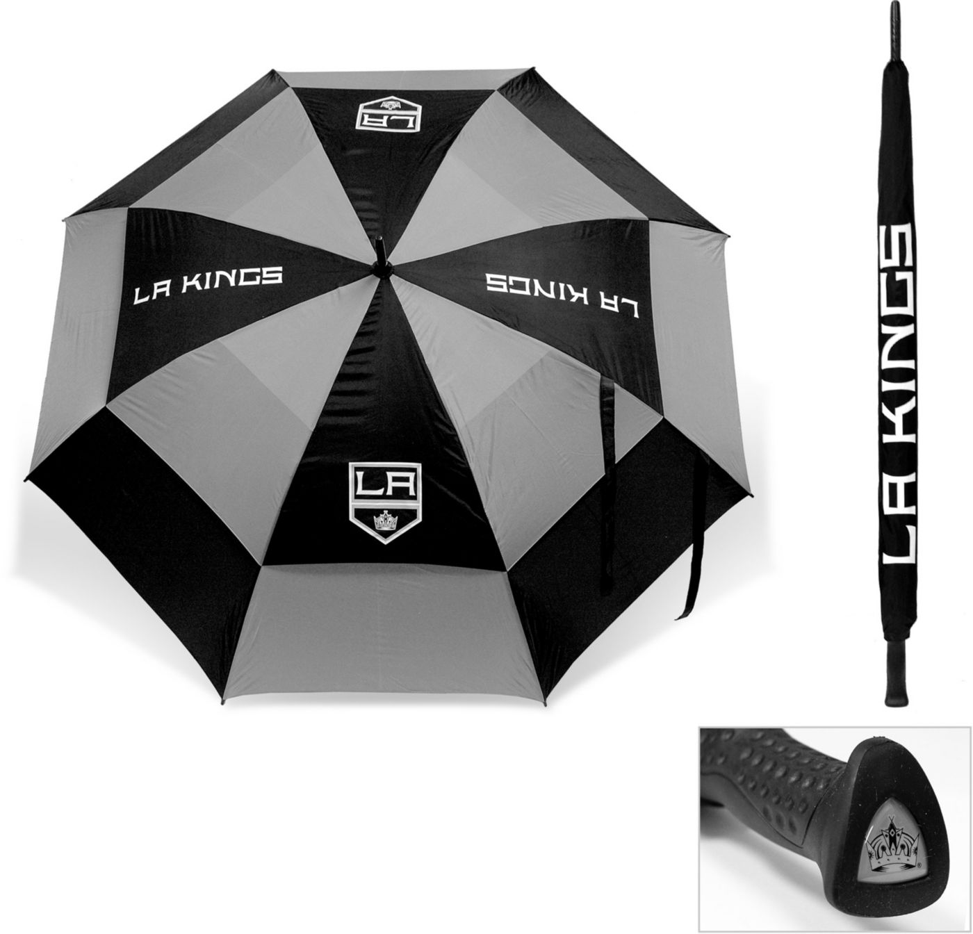 "Team Golf Los Angeles Kings 62"" Double Canopy Umbrella"