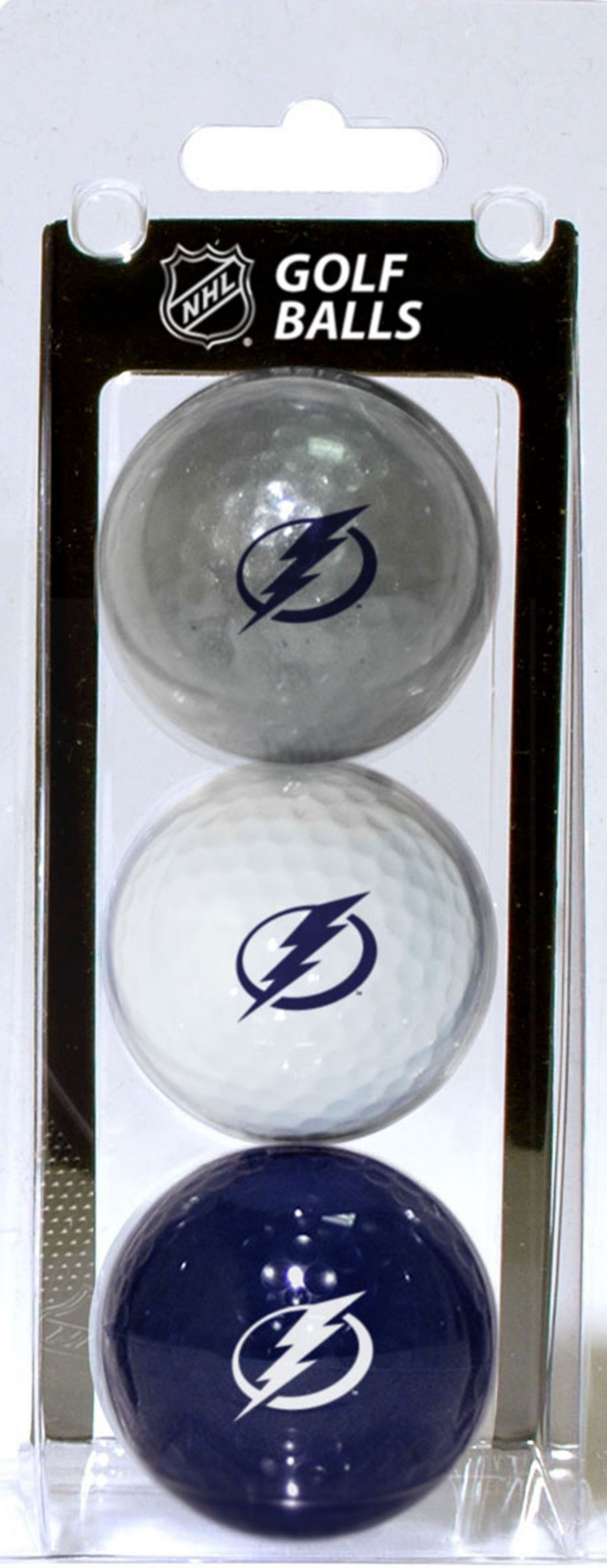 Team Golf Tampa Bay Lightning Three Pack Golf Ball Set