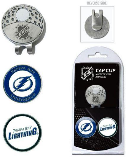 Team Golf Tampa Bay Lightning Cap Clip And Marker Set