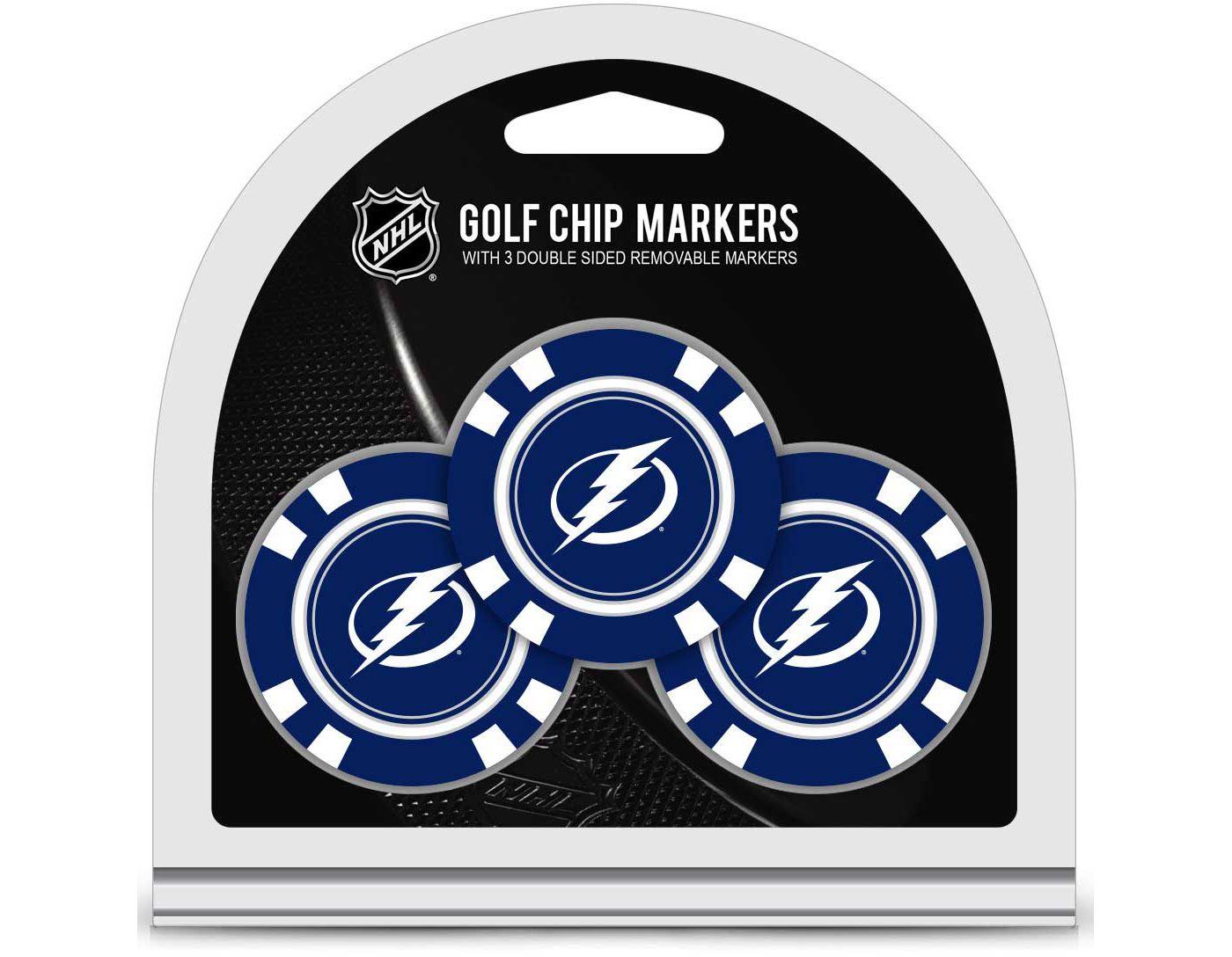 Team Golf Tampa Bay Lightning Golf Chips - 3 Pack