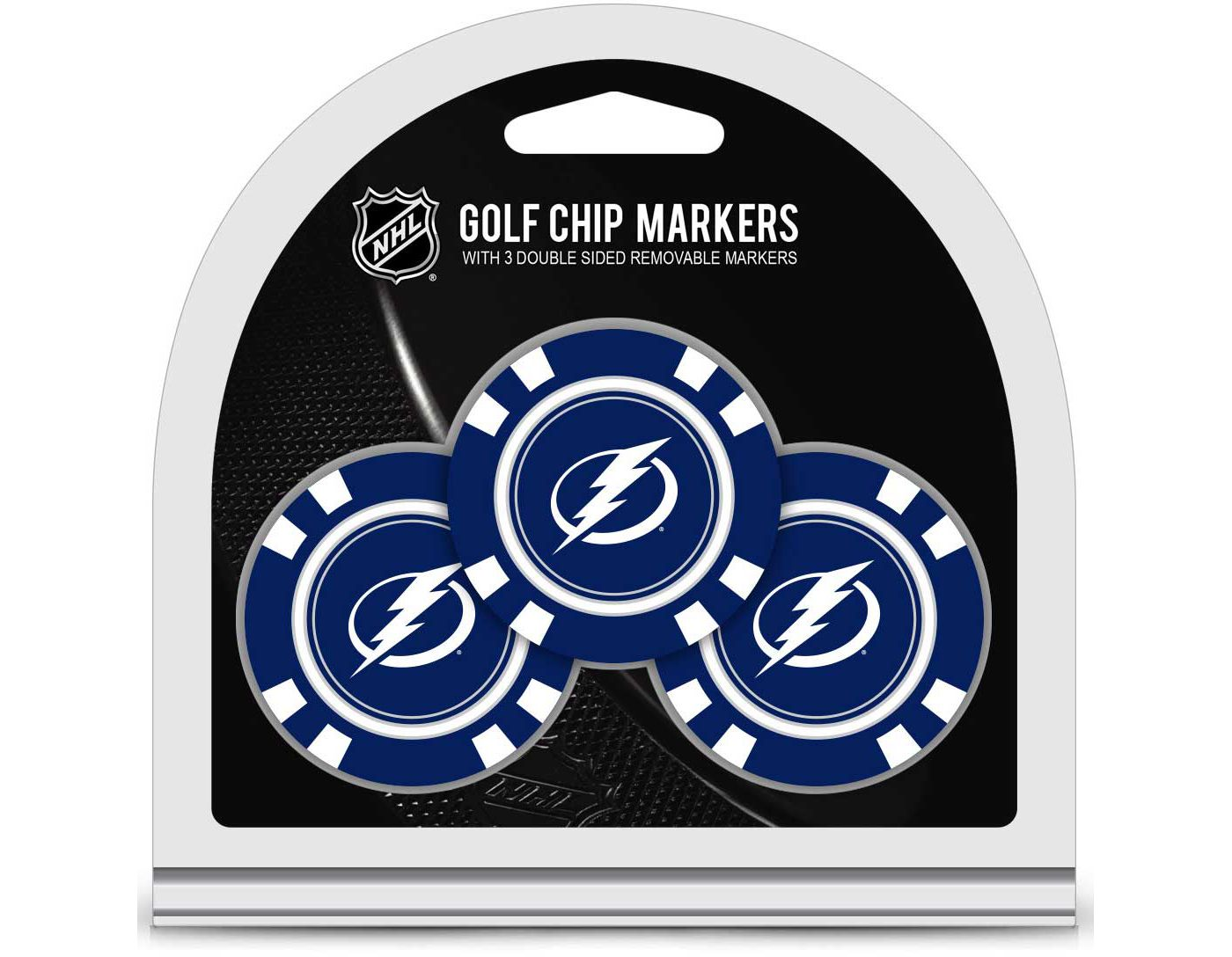 Team Golf Tampa Bay Lightning Golf Chips - 3 Pack